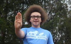 Freshman Blaize Peebles Volunteers For His Community