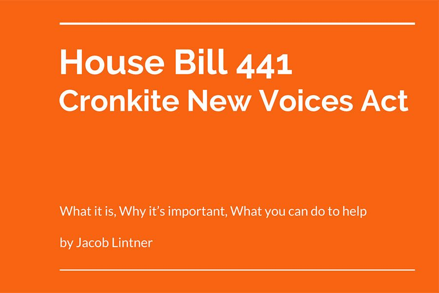 Why FHN Student Media Supports the Cronkite New Voices Act