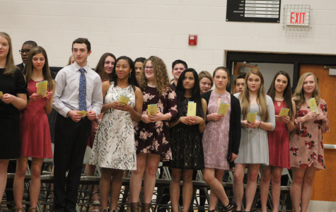 3/8 NHS Induction [Photo Gallery]
