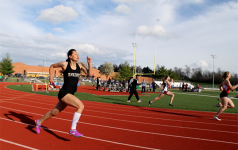 Track Competes in Friday Night Relays