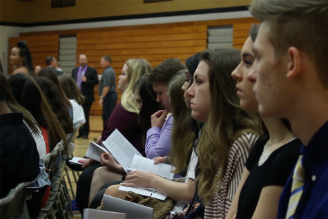 Knights of the Round Table Ceremony Honors Students