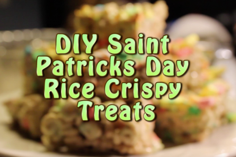 DIY Saint Patrick's Day Rice Crispy Treats