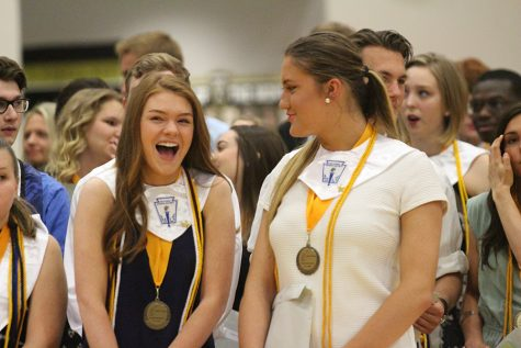 Seniors Honored at Awards Night [Story+Photo Gallery]