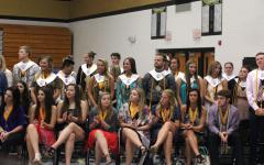Honoring Seniors on Senior Awards Night