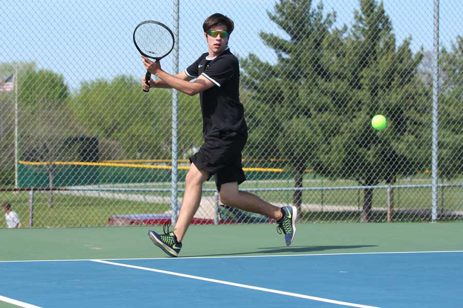 4/12 Boys Tennis vs. SCHS [Photo Gallery]