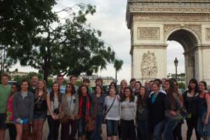 Students Take Trips to Foreign Countries