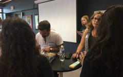 Published Authors Pay Visit to FHN Learning Commons