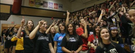 Homecoming pep assembly 2010