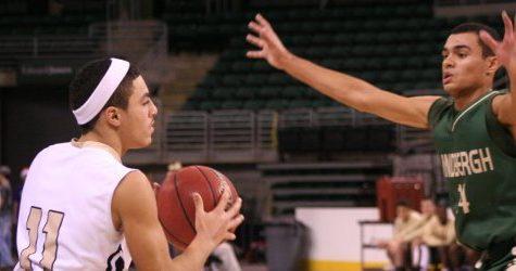 Varsity boys basketball experience The Family Arena
