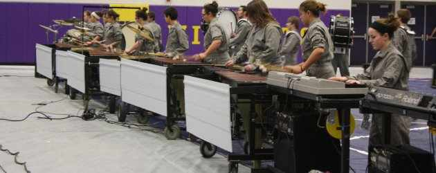 Drumline takes first at first competition