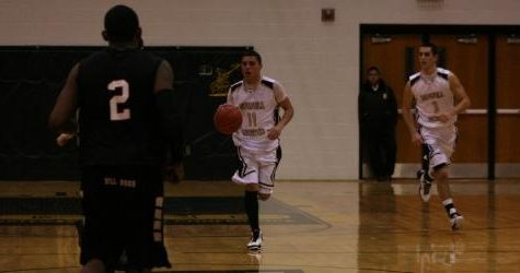 Varsity Basketball team wins second round of Districts