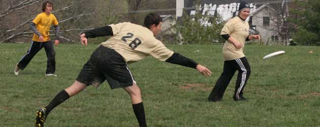 3/27 Ultimate Frisbee v. Lafayette Photo Gallery