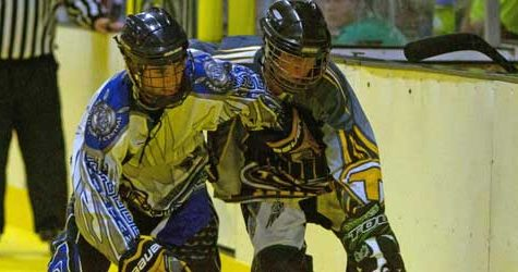 4/26 Varsity Roller Hockey v. Central Photo Gallery
