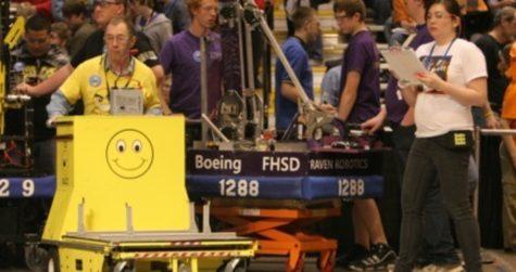 Robotics club takes on Nationals