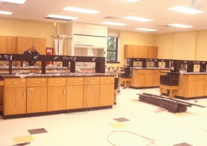 Students react to new science rooms