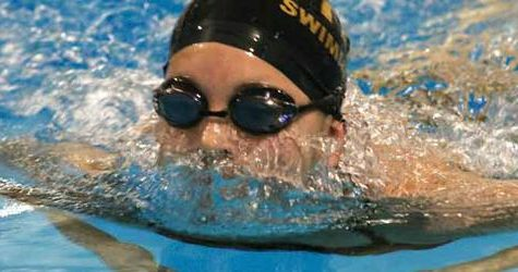 Swim tryouts create tough competition