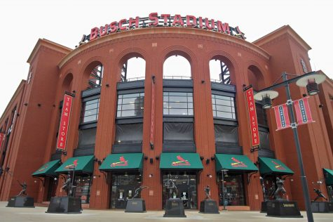 Busch Stadium: baseball heaven, fundraising site