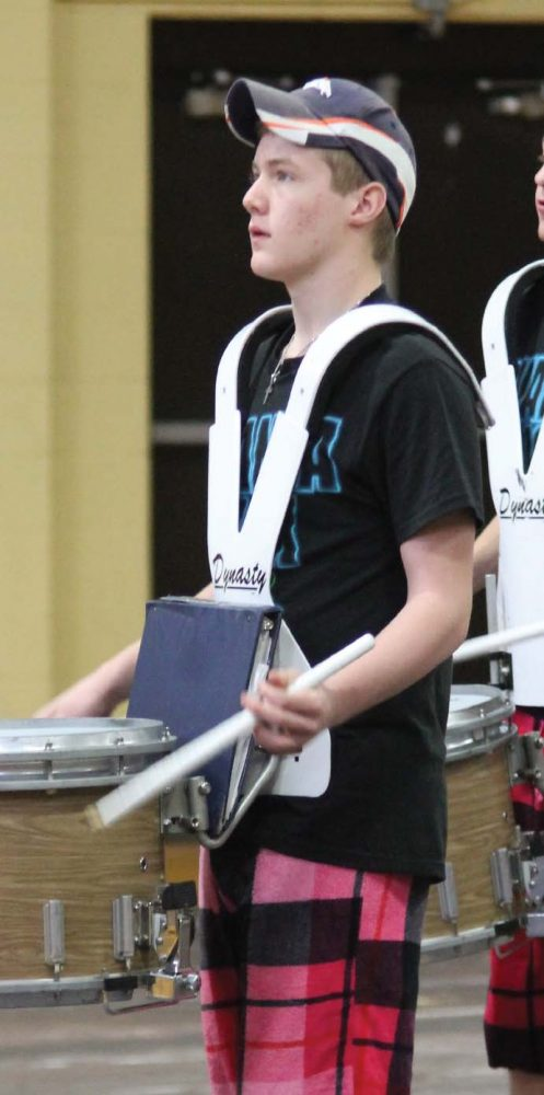 Drumline prepares for first competition with the biggest line in years