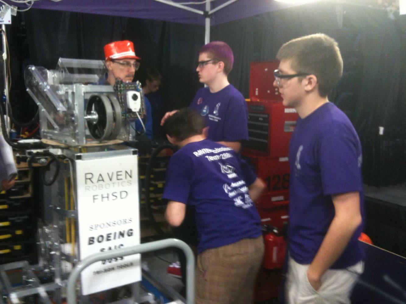 Raven Robotics Rolls in as Runner-Up