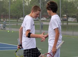 Boys Tennis vs McCluer North [Photo Gallery]
