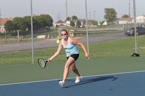 Day One Girls Tennis GAC Recap