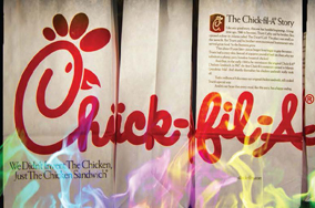 Chick-fil-A's CEO's publicized opinion on LGBT