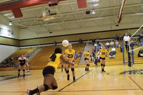 9-11 JV Volleyball vs FZW [Photo Gallery]