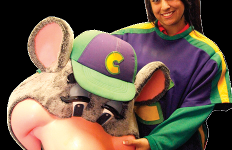 Job of the Month: Rayna Jacobs Works at Chuck E. Cheese