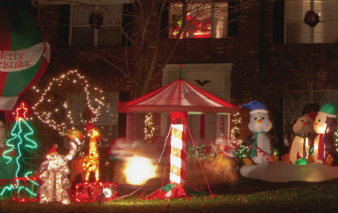Holiday Inflatable Christmas Lights