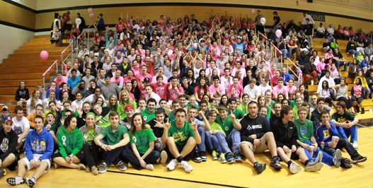 North And Howell come together for Pink Ribbon Game