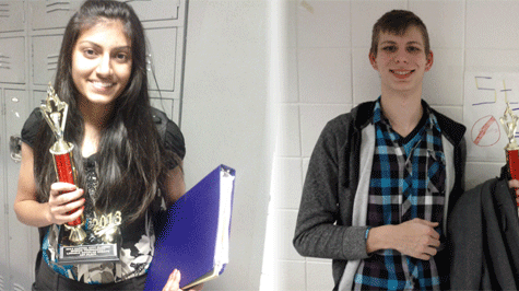 Smitha Milli and John Hallemeier Win First In Speech and Debate Tournament