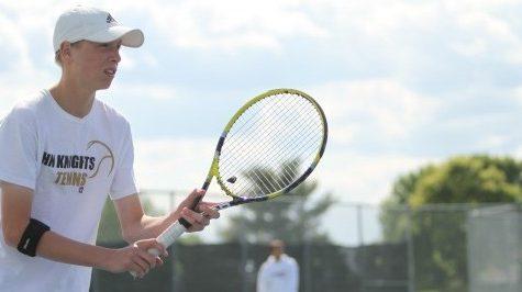 High Goals Set for Boys Tennis