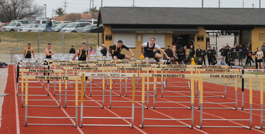 3-19 Track Vs. Holt [Photo Gallery]