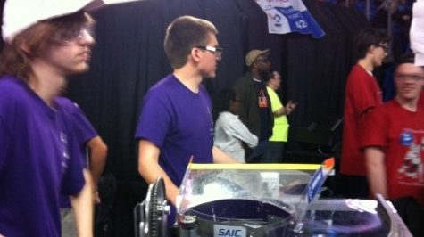 Raven Robotics places 48th at Championships