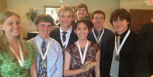 Seniors honored at 4.0 Luncheon