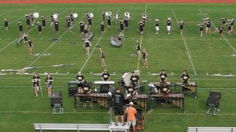 Knightpride Marching Band Performing at Black and Gold Day 2012