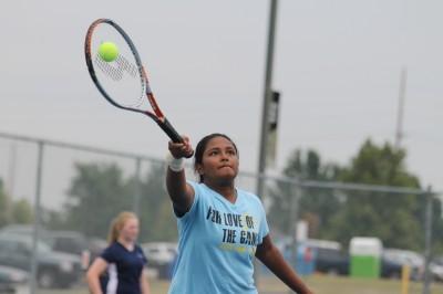 9-17 Tennis Vs. Central [Photo Gallery]
