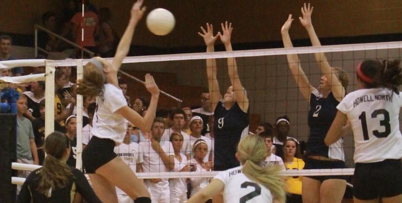 9-12 Varsity Volleyball vs Timberland [Photo Gallery]