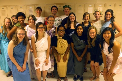 9-24 Toga/Under the Sea Tuesday Spirit Day [Photo Gallery]