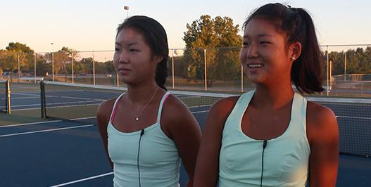Takenaka Sisters Team Up For Victory