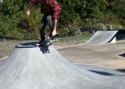 Wood and Wheels Skate Competition at Westhoff Skate Park