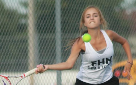 9-16 Varsity Tennis Vs FZS [Photo Gallery]