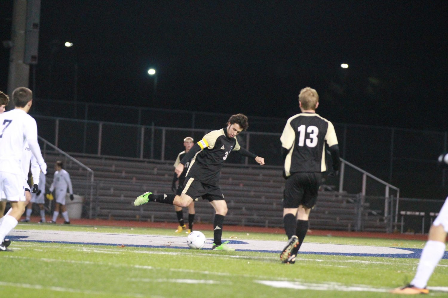Varsity Soccer Loses To Rival Central in First Round of Sectionals