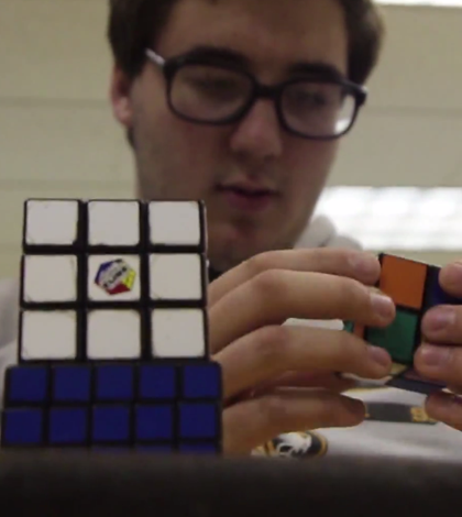 Bo Nixon and Sam Ritchie Teach You The Secrets of Rubiks Cubes