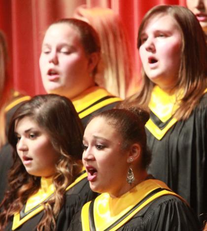 12-13 Choir Concert [Photo Gallery]