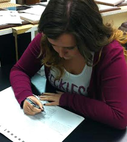 Students Prepare for Dec. 14 ACT