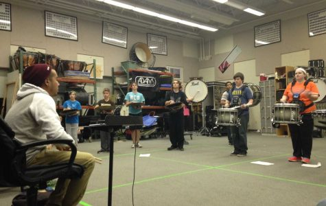 Changes Come to Winter Drumline