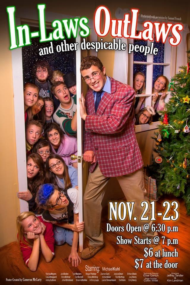 The+drama+clubs+poster+for+the+fall+play.