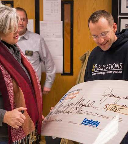 Manfull Wins Peabody Education Award