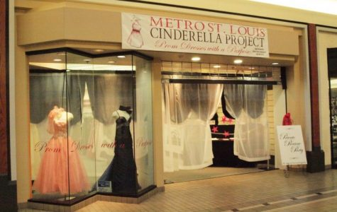 The Cinderella Project has a boutique in the Mid Rivers Mall which is open to the public March 1-15.
